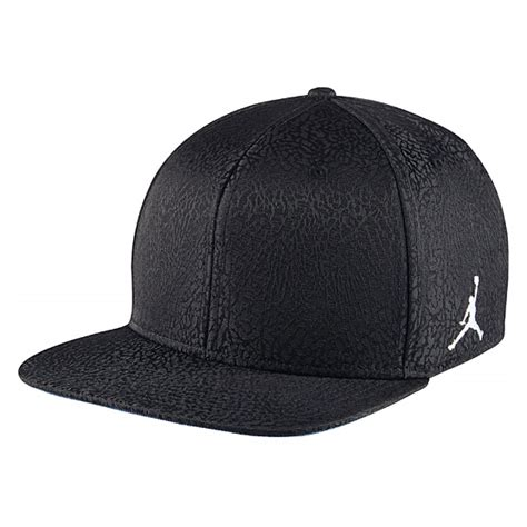 Topi Cap Hat Snapback Air Black air retro 3 jumpman hat cap snapback black flight beanie 802029 010 ebay