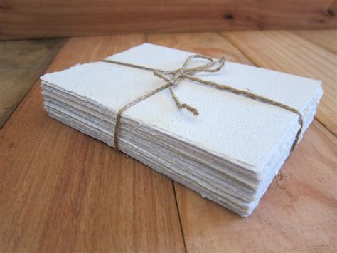 Handmade Paper Sheets - white handmade paper sheets recycled paper paper