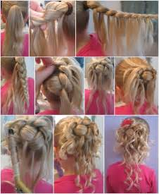 Related pictures flower girl hairstyles bun braided ideas thumb