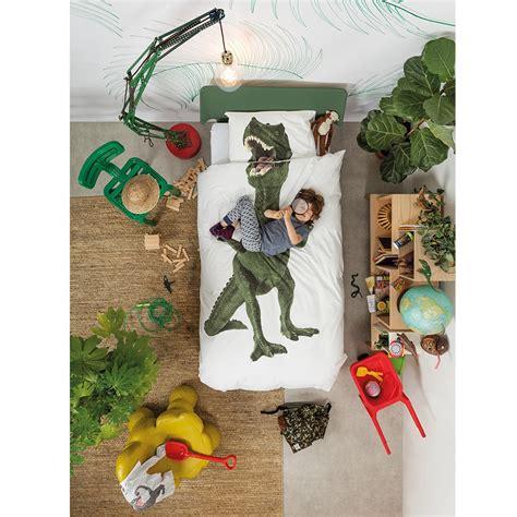 dinosaur bedding snurk dinosaur duvet bed set snurk bedding cuckooland