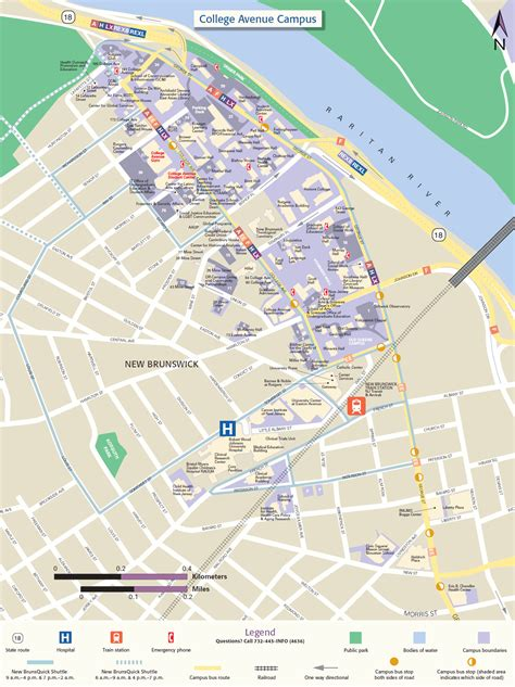 printable maps rutgers college avenue cus map rutgers visitor guide