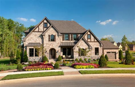 exterior home design nashville tn weatherford estates franklin tn