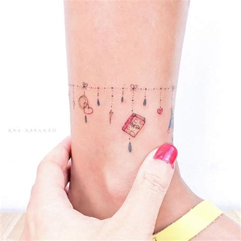 simple anklet tattoo design 33 delightful ankle bracelet tattoos for women tattooblend
