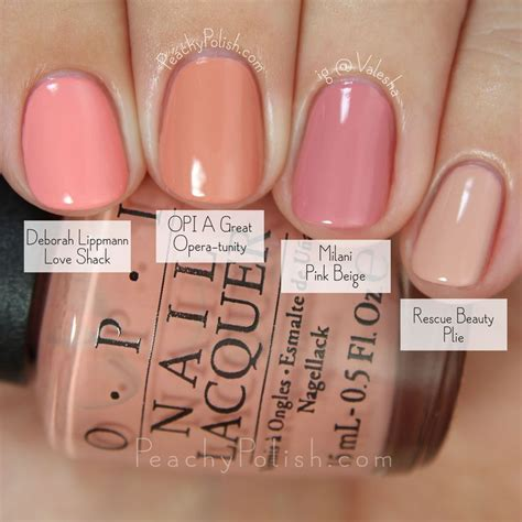 opi pink colors opi a great opera tunity comparison fall 2015 venice