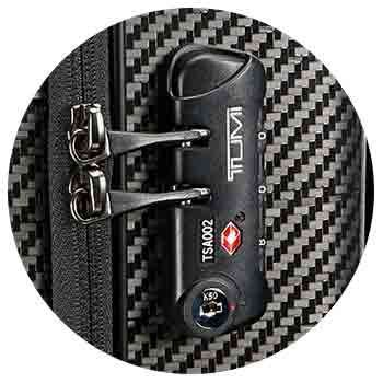 cadenas valise tumi tumi lock