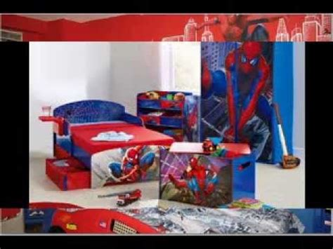 spiderman themed bedroom spiderman bedroom decorating ideas youtube
