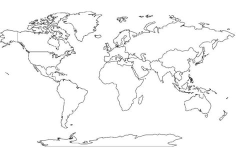 image of blank world map blank world map 7 continents new