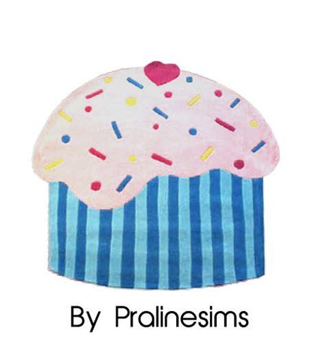 cupcake rug pralinesims cupcake rug