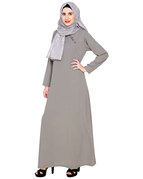 Abaya Trendy 5 grey trendy abaya dress