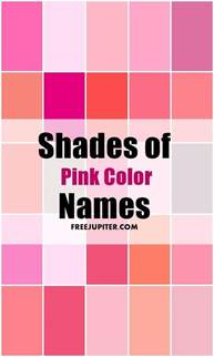 colour shades with names 25 unique shades of pink names ideas on pinterest names
