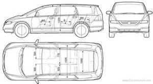Honda Odyssey Width The Blueprints Blueprints Gt Cars Gt Honda Gt Honda
