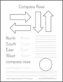 Printable Compass Template by Diy Compass Template Free To Print Student Handouts