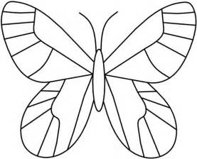 free coloring pages of butterfly templates