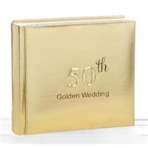 golden anniversary gifts 50th golden wedding anniversary photo album 4x6 quot new 18105 ebay