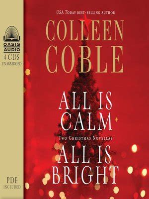 dead calm a coastal suspense volume 1 books vonnie s reading corner audiobook all is calm all is bright