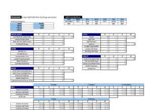 westside barbell template printable weekly logs for m s routines strength