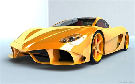 ferrari yellow car ferrari yellow concept wallpaper hd car wallpapers