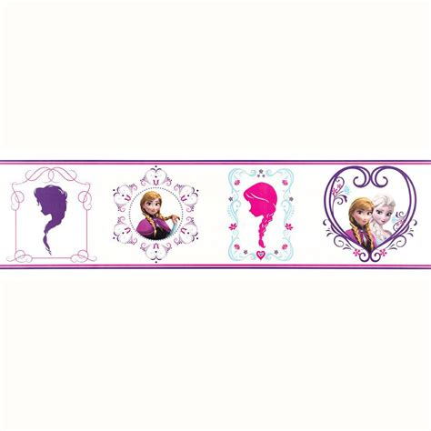 Wall Stickers Borders disney frozen wallpaper borders and wall stickers wall