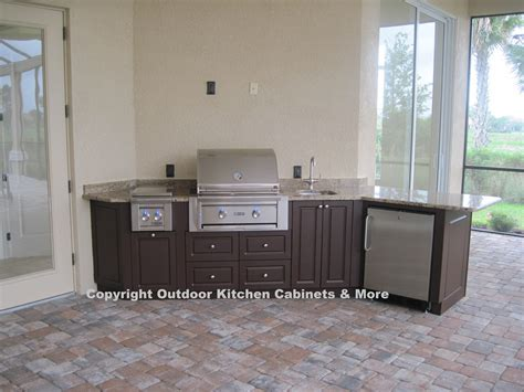 Waterproof Kitchen Cabinets Outdoor Kitchen Photo Gallery Outdoor Kitchen Cabinets More