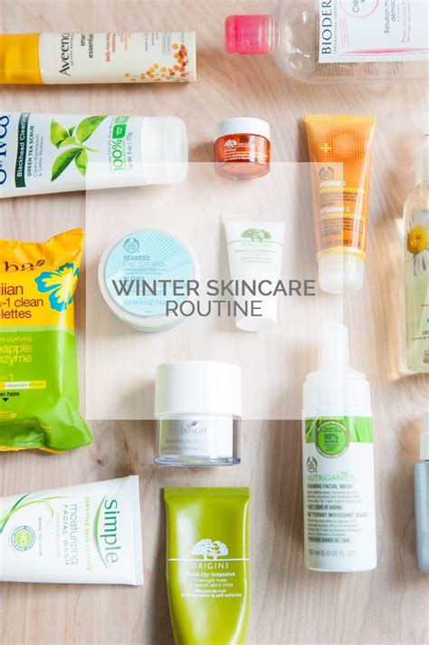 My Skin Care Routine February 2007 by My Winter Skincare Routine The Sweetest Occasion