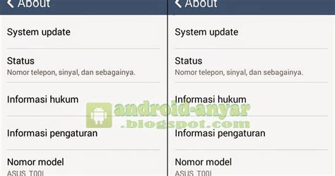 tutorial upgrade android kitkat ke lolipop cara upgrade android jelly bean ke kitkat 4 4 2 asus zenfone 4