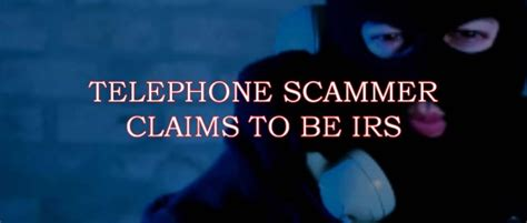 telephone scam 415 234 0491 claims to be irs cyberwarzone