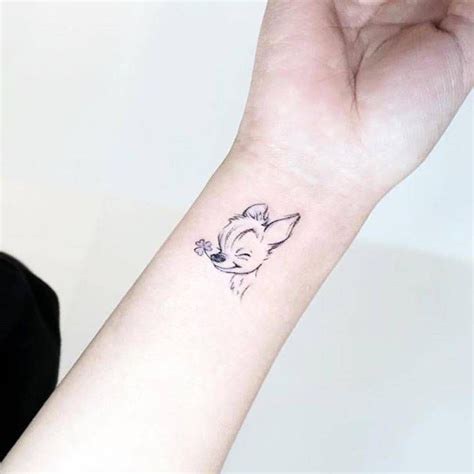 bambi wrist tattoo 54 best and book tattoos images on book