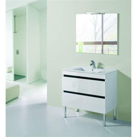 meuble de salle de bain sur pieds   tiroirs robinetco