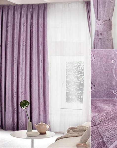 lilac curtain panels lilac blackout curtains blackout heavy thick fully lined