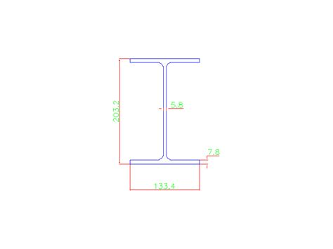 Drawing H Beam by Wide Flange Beam Archive Free Cad Block And 3d Models