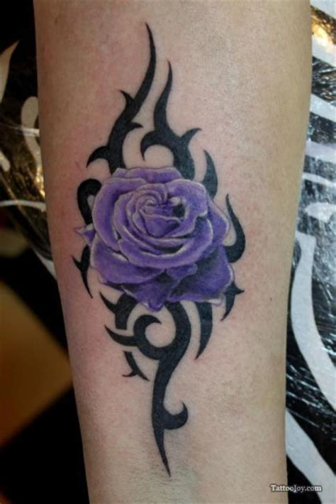purple tattoo tribal tattoos and designs page 253
