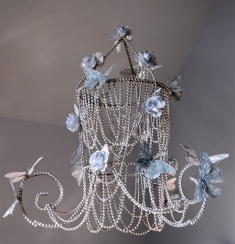 Diy Pearl Chandelier Butterfly Chandelier Think Crafts By Createforless