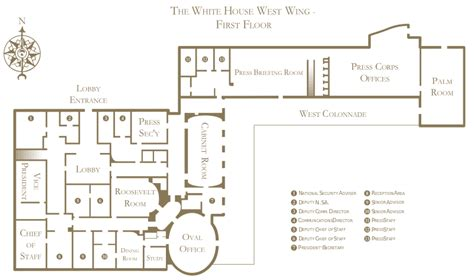 west wing white house floor plan white house west wing floor plan the white house pinterest west wing