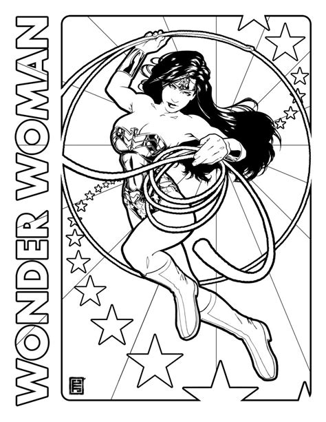 wonder girl coloring page wonder woman coloring pages