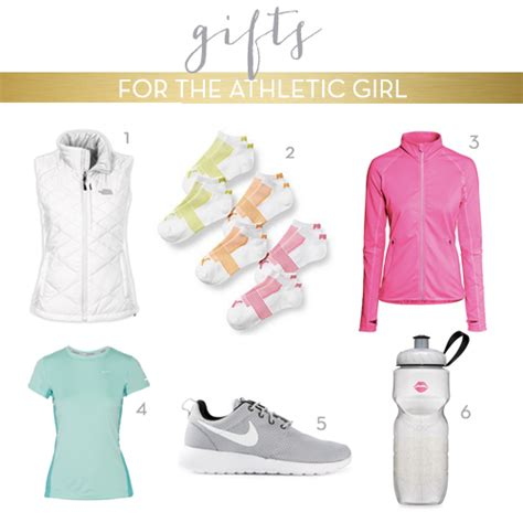 christmas gift guide for the athletic girl the chambray