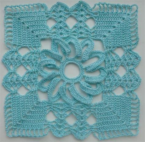 crochet pattern motifs lacy square motif by luba davies craftsy
