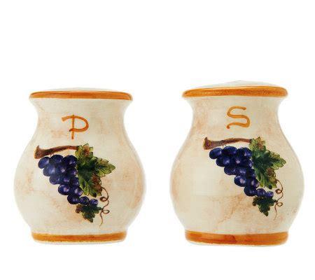 Handmade Salt And Pepper Shakers - pietra italia handmade salt and pepper shakers page 1