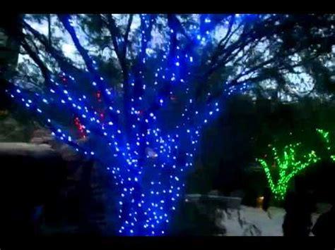 christmas lights at springs preserve in las vegas nv youtube