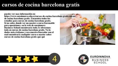 escuela cocina barcelona bonito cursos cocina barcelona gratis fotos cursos cocina
