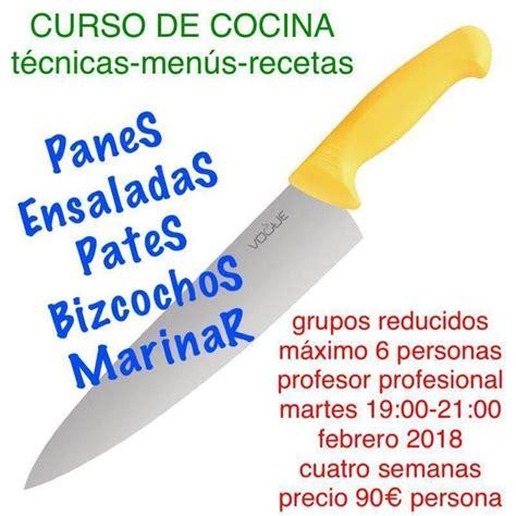 cursos de cocina en caceres curso de cocina villanueva de la serena curso en