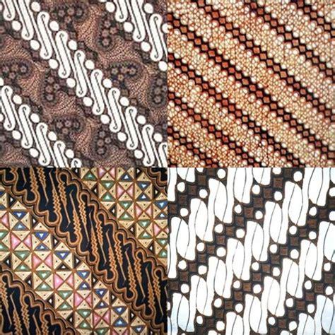 Kain Batik Print Modern Parang Bunga gambar batik parang makna filosofi dipakai alba