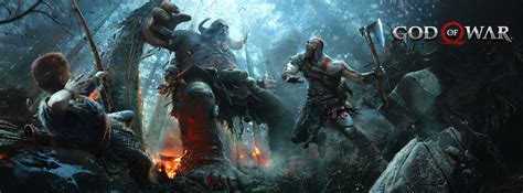 Of God god of war 4 2017 ps4 hd wallpapers01