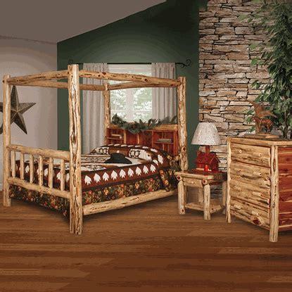wildwood rustics red cedar half log bench wildwood rustics red cedar log canopy bedroom set