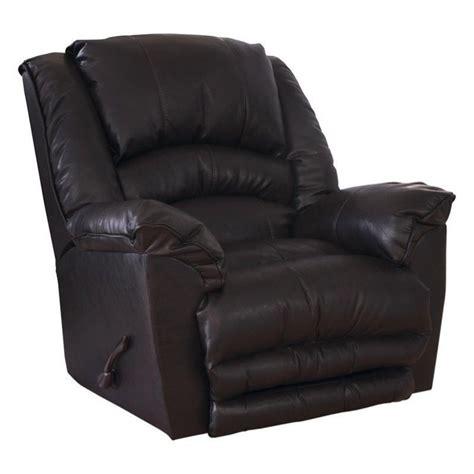 catnapper rocker recliner catnapper filmore leather rocker recliner in godiva