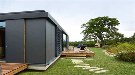 Pavillon Modern by Chao Shed Contemporary Pavilion Dorset Western Design