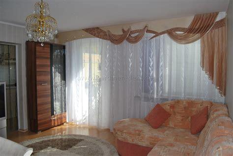 querbehang wohnzimmer klassischer wohnzimmer vorhang mit gro 223 er schabracke im