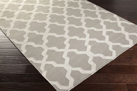 White Area Rug Artistic Weavers York Awhd1002 Grey White Area Rug