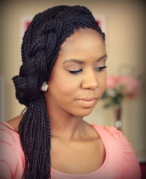 black hairstyles braided to the side 20 beautiful long hairstyles for black women hairstyle