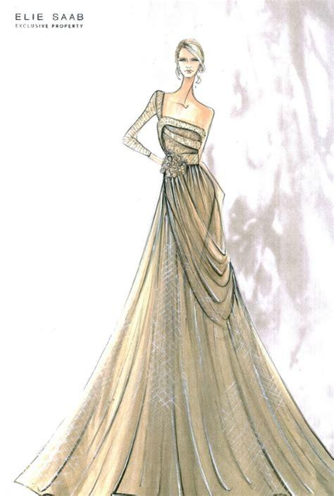 fashion illustration elie saab fashion sketches on elie saab sketches and
