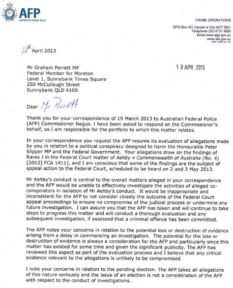 Appeal Letter For Consideration Sle The Appeal Of The Afp